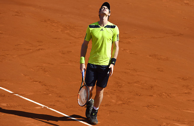 Andy Murray didn't face a single break point against Rafael Nadal in the French Open semifinals.