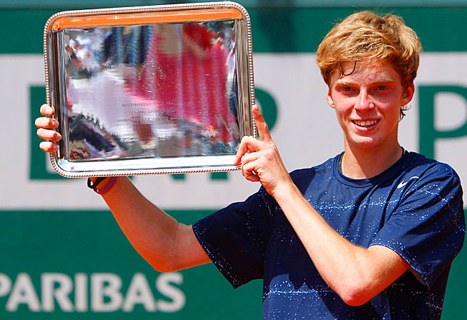 Andrey Rublev is the first Russian to win the boys' French Open title since Vladimir Korotkov in 1966.
