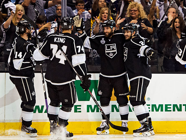 Los Angeles rallied from a two-goal deficit for the fourth time in its past five games. At one point, the Kings were down 2-0, 3-1 and 4-2 Saturday.