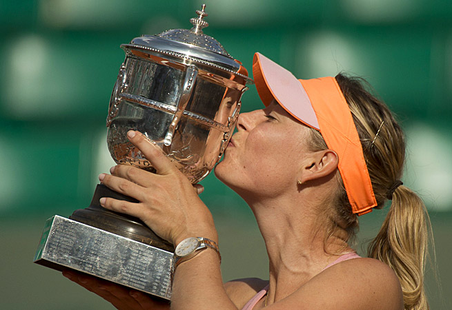 After winning her second French Open, Maria Sharapova is already setting her sights on Wimbledon.