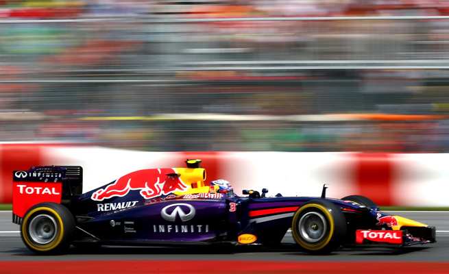 Daniel Ricciardo became the first non-Mercedes driver to win a Formula One race this year.