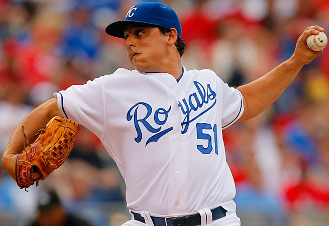 The Kansas City Royals' Jason Vargas has been dealing recently and will pitch twice this week.