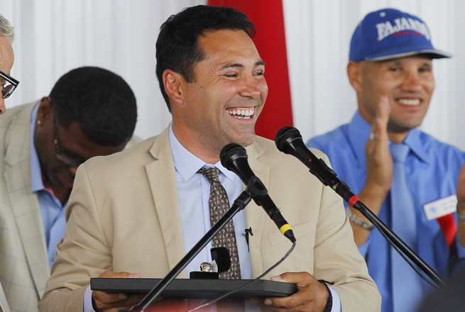 Oscar De La Hoya's career included 10 titles in six weight divisions, an Olympic gold medal and 10 world titles.