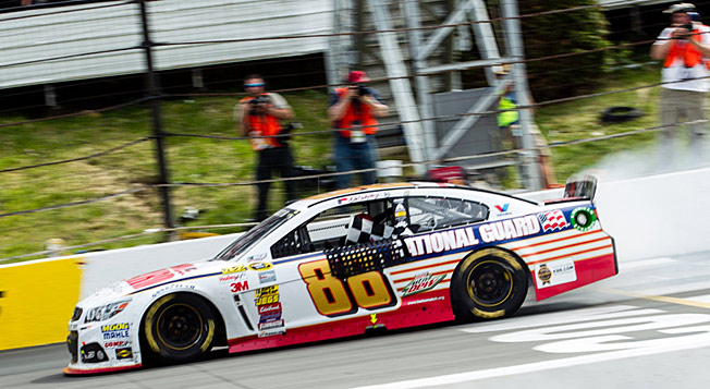 Dale Earnhardt Jr. is enjoying his best season in 10 years, with wins at Daytona and now Pocono.