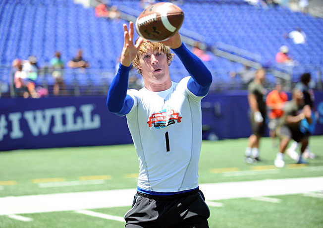 Trent Irwin, a four-star wide receiver out of Newhall, Calif., shined at the Rivals100 Five-Star Challenge.