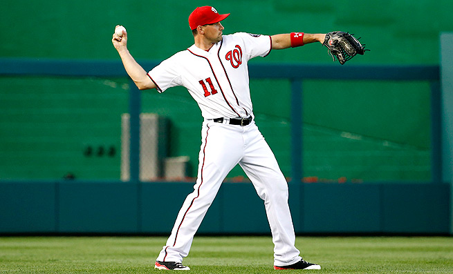 After five straight starts in left field, Ryan Zimmerman now has outfield eligibility in most fantasy leagues.