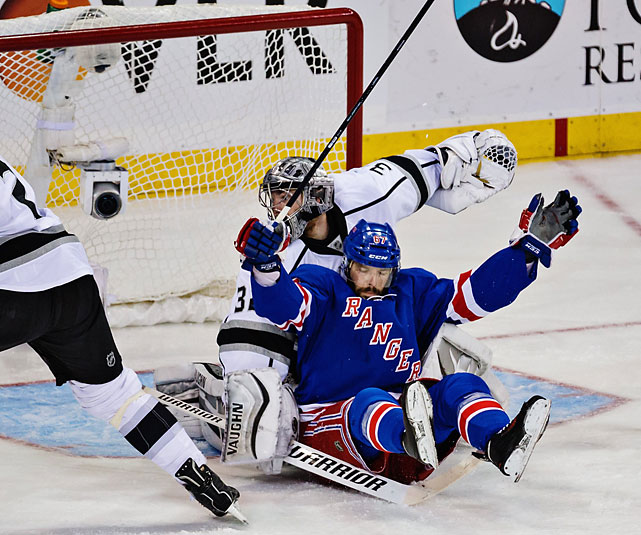 Down 3-0, the Rangers would be the second team to ever come back from such a hole in a Stanley Cup Final to win the Cup.
