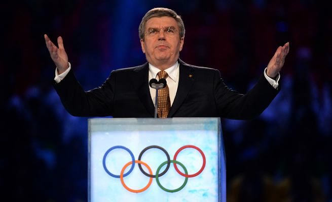 IOC President Thomas Bach gave a vote of confidence for Rome, as well as Rio de Janeiro.