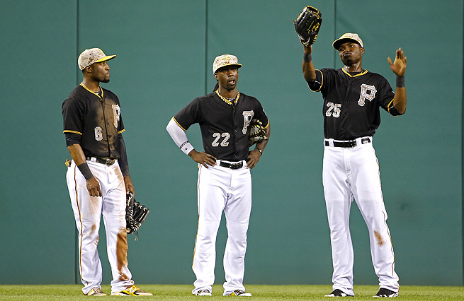 Starling Marte has been somewhat overshadowed by the other members of the Pittsburgh outfield.