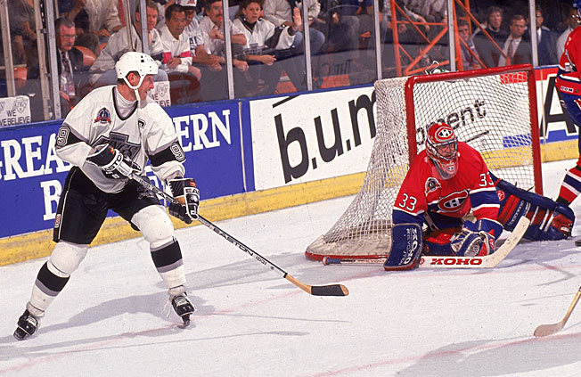 Wayne Gretzky's Kings were foiled by the Montreal Canadiens in the 1993 Stanley Cup Final.