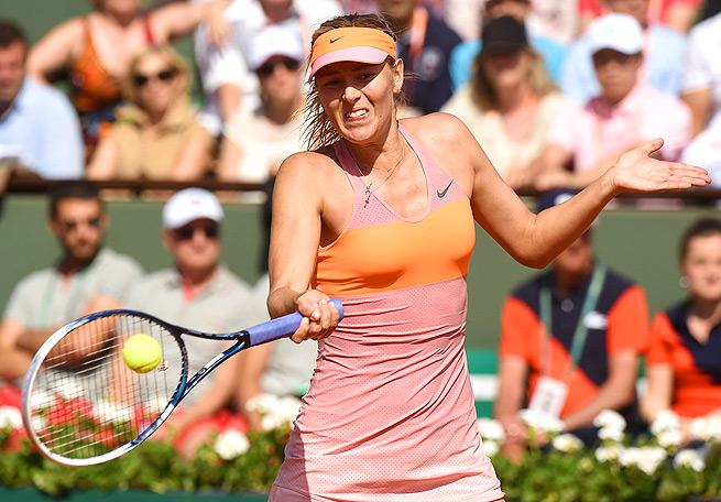 Maria Sharapova won her second title at the French Open, and her fifth Grand Slam crown.