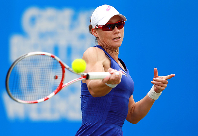 Sam Stosur was just two games from beating Maria Sharapova in the fourth round of the French Open.