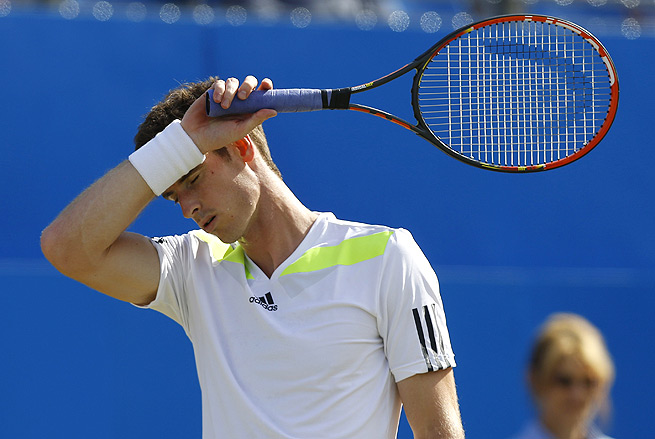 Andy Murray had won 19 straight matches on grass, dating back to the 2012 Wimbledon final.