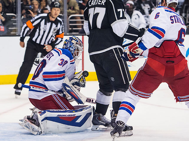 Henrik Lundqvist stopped 48 shots in another standout performance for the Eastern Conference champions.