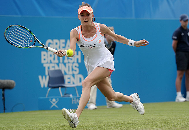 Agnieszka Radwanska has not won a match at Eastbourne since reaching the quarterfinals in 2011.