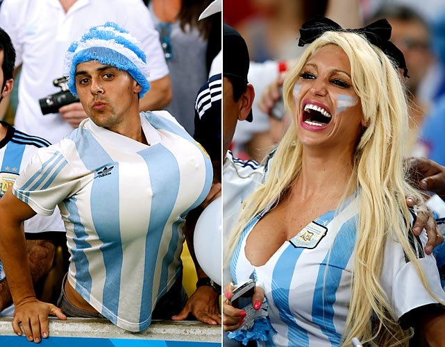 The World Cup is clearly the stuff of which great mammaries are made.