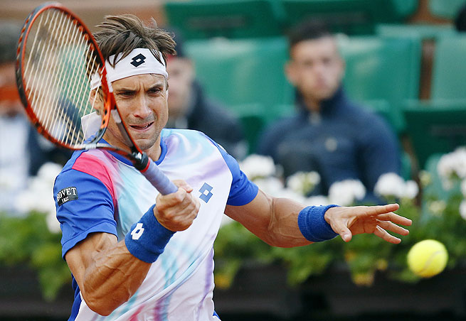 David Ferrer came down with the flu after the French Open and is not sure he'll play at Wimbledon.
