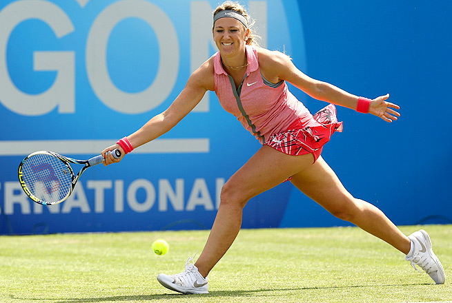Victoria Azarenka has struggled with a foot injury, and hasn't played since Indian Wells in March.