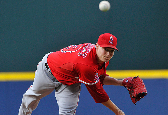 Garrett Richards has been outstanding for the Angels recently and fantasy owners should take note.