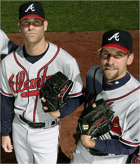 Smoltz has gone from ace to closer and back again. Formerly of the A's, Hudson boasted a 106-48 career record heading into this season.
