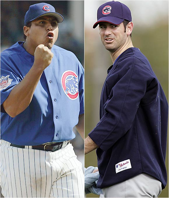 With Kerry Wood often hurt, the title of co-ace falls to the durable Zambrano, who has compiled at least 200 innings in three consecutive seasons.