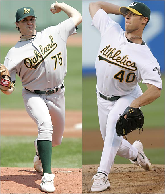 The 25-year-old Harden already has supplanted former Cy Young winner Zito as the ace of the staff.