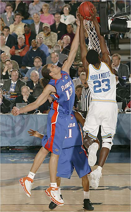 Joakim Noah led Florida to its first national championship.