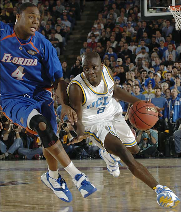 Darren Collison and the Bruins struggled to get past the quicker, more athletic Gators.
