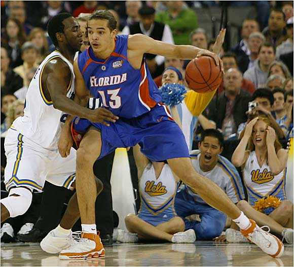 In his sophomore season, Joakim Noah, a 6-11 forward, has matured into one of the most dominant players in the country.