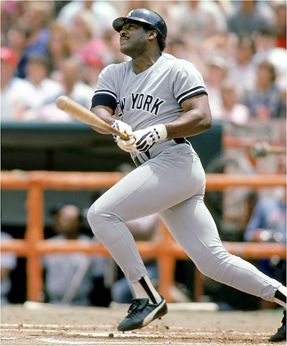 Unless you're a big Oscar Gamble fan, Baylor best fits the description of full-time DH for the Yankees. He hit 71 home runs during his three seasons with the club, from 1983 to 1985.