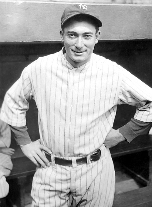 Part of the famed Murderer's Row lineup of 1927, Lazzeri was on five World Series championship teams in the Bronx. On May 24, 1936, the Hall of Famer became the first major leaguer to hit two grand slams in the same game; he set an American League record with 11 RBIs.