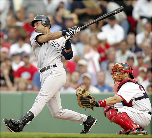 With apologies to Phil Rizzuto, who won more pennants and championships, Jeter already ranks in the club's top 10 for runs (1,183), hits (1,975), batting average (.314) and stolen bases (217).