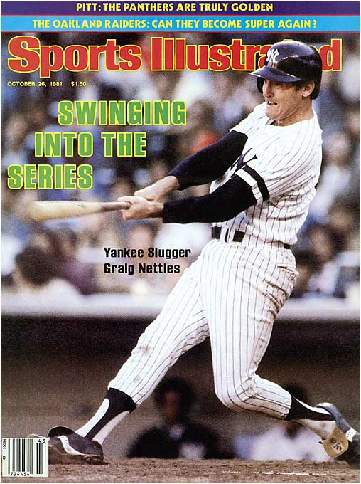 Nettles often came through with clutch plays in the field and timely hits at the plate. He was at his best in the late '70s, hitting 37 home runs in '77 and 27 in '78 for the back-to-back world champion Yankees.