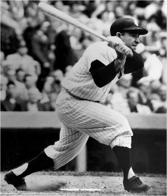 The colorful Berra played on 14 Yankees pennant winners and 10 world champions. The Hall of Famer was selected to play in 15 consecutive All-Star Games. His 358 home runs rank fifth all-time in club history.