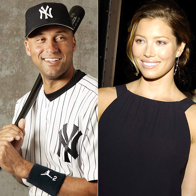 Derek Jeter and new girlfriend Jessica Biel were seen on the beaches of Puerto Rico in early January, where they apparently spent New Year's Eve.