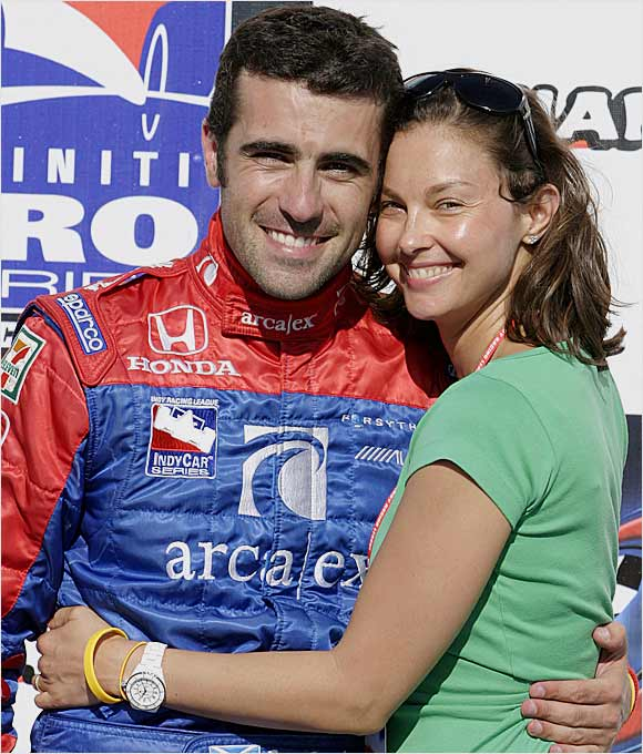 Actress Ashley Judd is no stranger to the world of sports. A Kentucky alum, she's a frequent visitor to Rupp Arena. She's also become a regular at Indy Racing League events, where she cheers on her husband, driver Dario Franchitti.