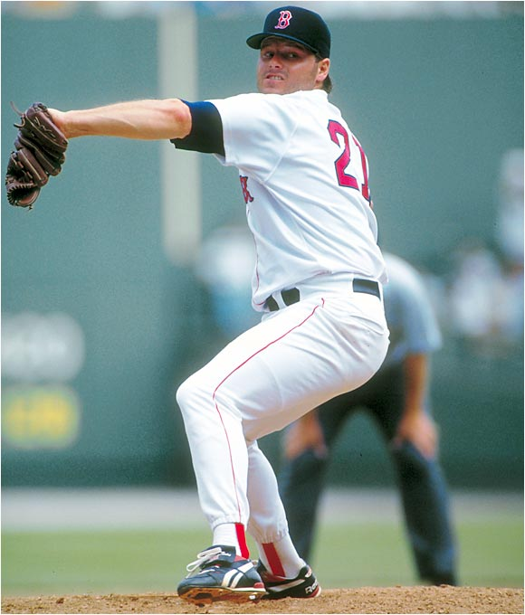 In 1993, Clemens suffered through the first losing season of his career, going 11-14 for the fifth-place Red Sox.