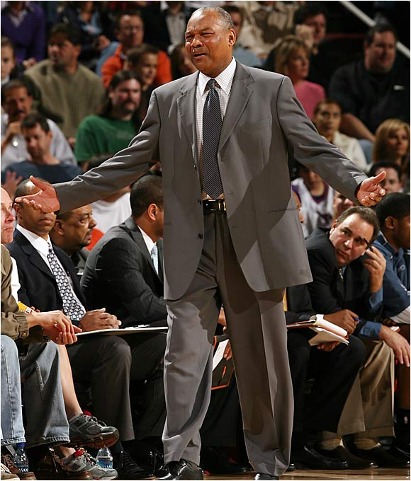 Despite claims to the contrary, Bickerstaff has long been rumored to be considering giving up head coaching duties to focus exclusively on his general manager responsibilities (rumors that may gain steam with Michael Jordan perhaps hovering as the team's new owner), and that may be the best news Bobcats fans have heard in years. One potential replacement is Kentucky coach Tubby Smith, who has done little to dispel rumors that he's interested in making the move to the NBA.