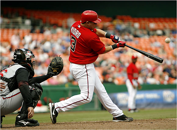 Assorted leg injuries, including a torn tendon in his left ankle, limited Vidro to a career-low 163 at-bats in 2005. The All-Star second baseman has remained healthy this season while battting .350 with a .414 on-base percentage.