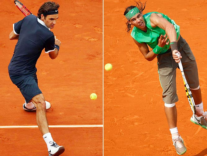 The two have played some epic matches, but this wasn't one of them. With an emphatic straight-sets rout, Nadal won his fourth consecutive French Open title and handed Federer his worst loss in 173 Grand Slam matches. During the trophy presentation, Nadal was moved to apologize to Federer for the most lopsided French final in 21 years.    Nadal leads series 11-6.