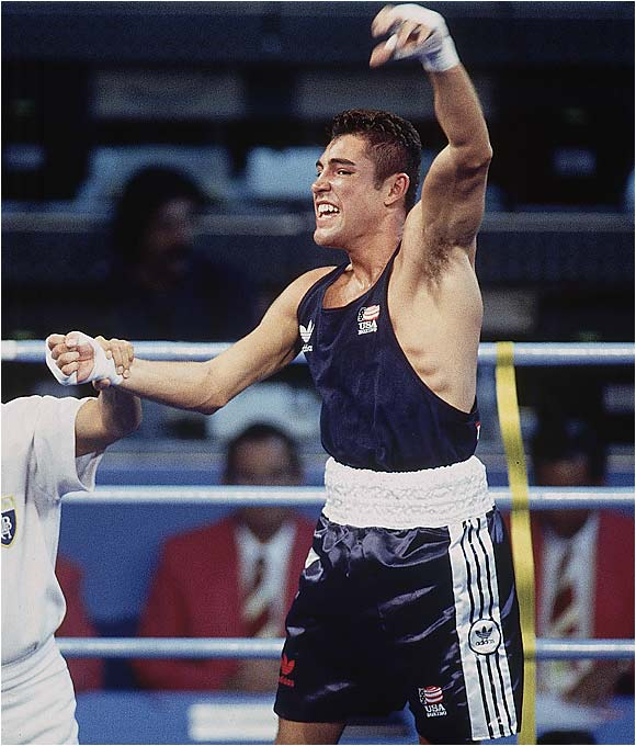 In the 132-pound Olympic final, the 19-year-old De La Hoya punched out a 7-2 victory over Rudolph of Germany, the man who'd beaten him the year before in the world championships. With the win, De La Hoya claimed the U.S.'s only boxing gold medal at the Barcelona Games and fulfilled the promise he'd made two years earlier to his mother, Cecilia, just before she died of breast cancer at age 38.