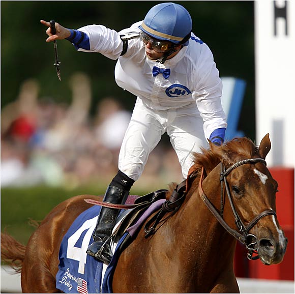"""One of the serious favorites, Lawyer Ron has the longest winning streak (six races) and the most experience (14 starts) of any horse in the Derby field. """"He does things on the racetrack and you just wonder how he does them,'' says trainer Bob Holthus, 71. The X-factor is 24-year-old jockey McKee, who is riding in only his third Derby and will be called upon to make tough and quick decisions early in the race. Ownership of the horse was in flux until the last minute, as lawyer Ron Bamberger (for whom the horse is named) attempted to close a sale for the estate of James T. Hines Jr., the owner who died in February. The post position is not ideal and could leave the Lawyer hung outside on the first turn."""