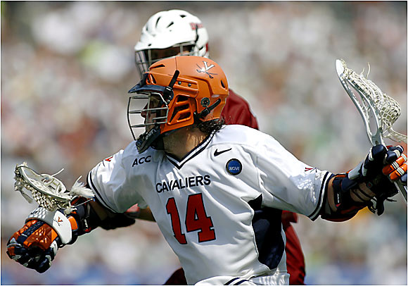 All-American Matt Ward scored five goals and was the centerpiece of Virginia's relentless offensive attack. Ward earned Most Outstanding Player honors and finished the playoffs with a Division I record 16 goals in four games.