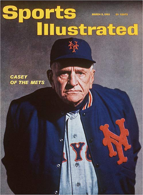 The Mets entered their inaugural season with high hopes under manager Casey Stengel, but they just couldn't win. Their 120 loses were the most in the 20th century. (In 1899, the Cleveland Spiders finished 20-134.) The Mets, however, wouldn't stay down long: They won the World Series in 1969.