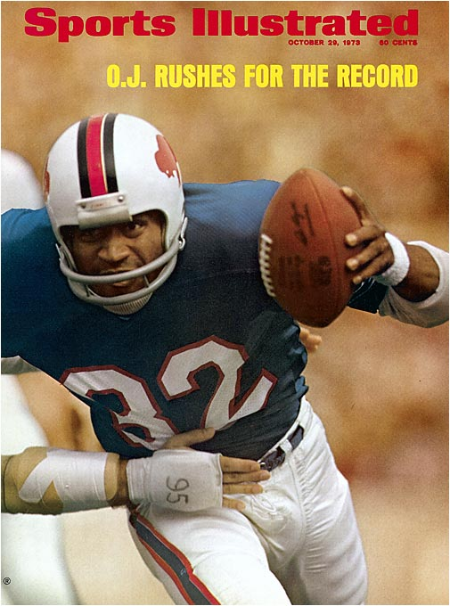 Other running backs have eclipsed the 2,000-yard mark since Simpson, but in 1973 the Bills star became the first to do it and the only one to achieve the feat in a 14-game NFL season. The Juice ran for 419 yards in the final two games.