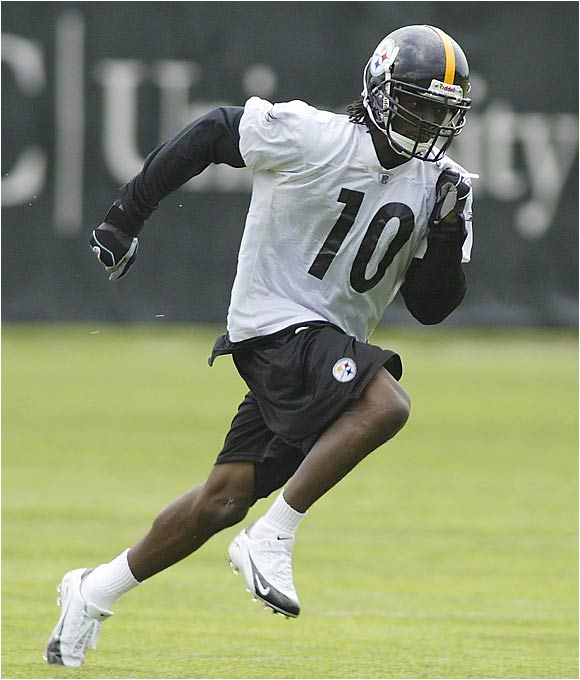 Holmes is another Ohio State product who will not be able to attend offseason workouts until final exams are over in early June. That's a shame, because Pittsburgh is going to need Holmes to produce immediately this season. Nevertheless, Steelers quarterback Ben Roethlisberger had very nice things to say about Holmes after their first minicamp.