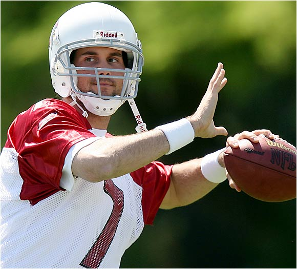 Leinart has gotten more attention than any other rookie in the NFL, because of his budding relationship with Paris Hilton. That can't make the Cardinals happy, but they seemed satisfied with Leinart's performance in minicamp. He threw the ball well and started to pick up the things he needs to know.