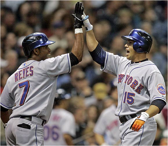 The 22-year-old Reyes has 110 career steals, while Beltran is the master of knowing when to run -- he is the all-time leader in stolen-base percentage  (216 of 245, 88 percent).
