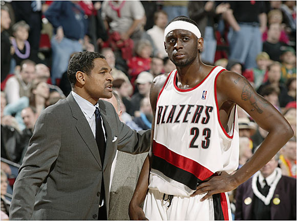 "Miles chafed under the then Blazers coach's sometimes stern tutelage, finally exploding at a team film session in which Miles repeatedly called Cheeks a racial epithet and told the coach he didn't care if Portland lost 20 games in a row because Cheeks was going to be fired anyway.  Miles: ""We have our ups and downs, you know, we get into arguments. But it ain't to the point where I would dog him because he is a good person, and he is looking out for my best interests. It's just that some days we communicate right, and some days we communicate wrong. I just think my IQ of the basketball game is so high ... but there is a lot of stuff where I feel I need to give my opinion."" Cheeks: ""I have to challenge him because he, for whatever reason, doesn't put it out there like I would like him to. He thinks he does, and I think he doesn't. So I've got to challenge him in a different way."""