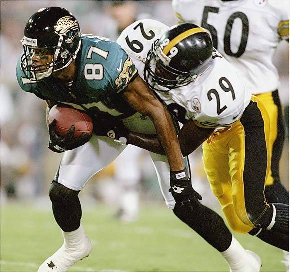 McCardell got off to a bumpy start in the NFL, but he became a statistical machine once he arrived in Jacksonville in his fifth season. While typically serving as the No. 2 receiver, McCardell has had Hall of Fame-type success with the Jaguars, Buccaneers and Chargers but has never gotten the attention he warrants as a top wideout.